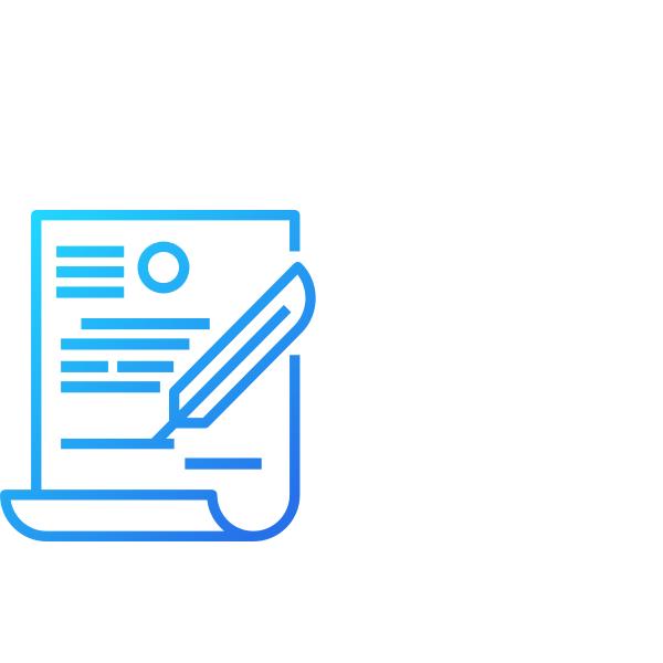 Ícone de contrato AgileMS